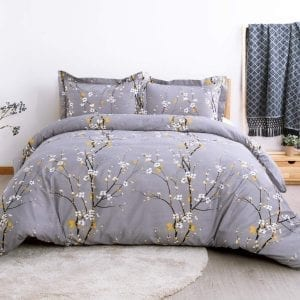 Bedsure Duvet Covers Set | Spring Bloom Pattern 3 color choices