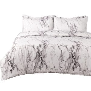 Bedsure Duvet Covers Queen/Full Size Marble Design